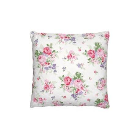 2019Cushion Rose white 50x50cm