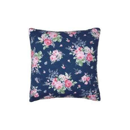 2019Cushion Rose dark blue 50x50cm