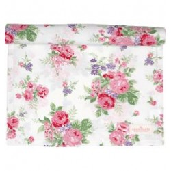 2019Table runner Rose white