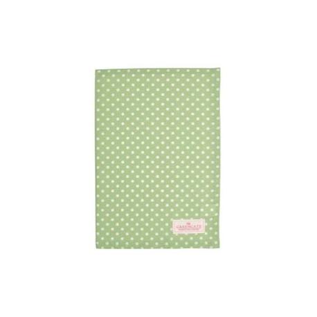 2019Tea towel Spot pale green