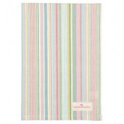 2019Tea towel Pipa soft stripe