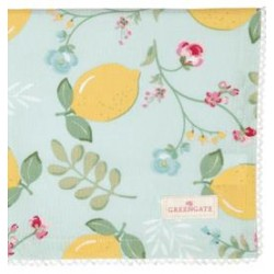 2019Napkin with lace Limona pale blue