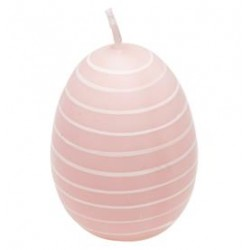 2019Easter egg Stripe pale pink