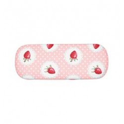 2019Glasses case Strawberry pale pink