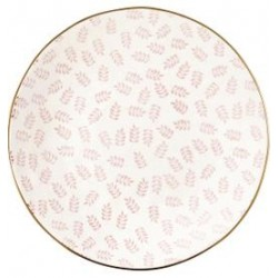 2019Plate Lianna pale pink w/gold