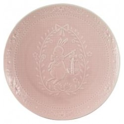 2019Plate Evy pale pink