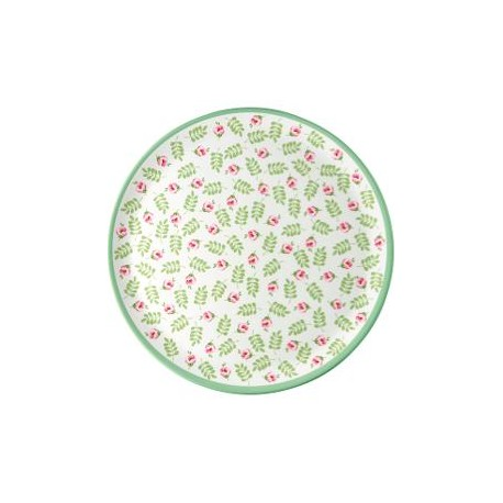 2019Dinner plate Lily petit white