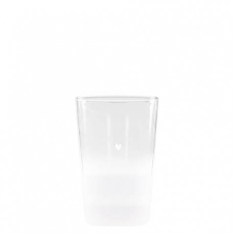 BC NEW / Tumbler Water sandblasted high 11cm
