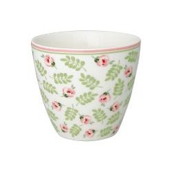 Latte cup Lily petit white