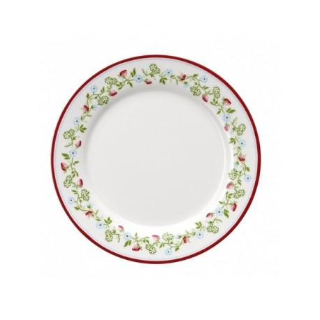 Plate Gloria white