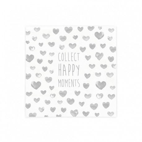 bc Napkin Collect Moments incl. 20 pcs 12,5x12,5cm
