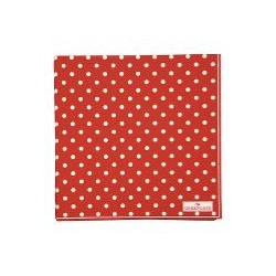 19 Napkin Spot red large 20pcs