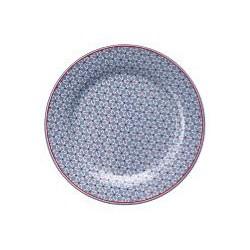 19 Plate Juno dusty blue