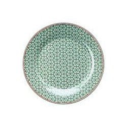 19 Plate Juno green
