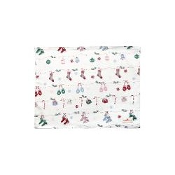 19 Placemat Jingle bell white
