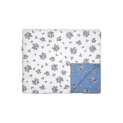 19 Bed cover Nicoline dusty blue 140x220cm