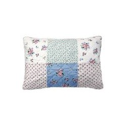 19 Cushion Nicoline white patchwork 40x60cm
