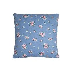 19 Cushion Nicoline dusty blue 50x50cm
