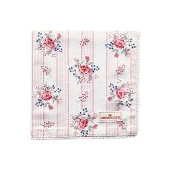 19 Napkin with lace Fiona pale pink