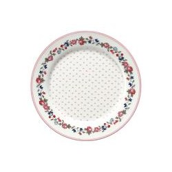 19 Kids plate Ruby petit white