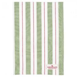 RĘCZNIK KUCHENNY Tea towel Elinor green GREENGATE