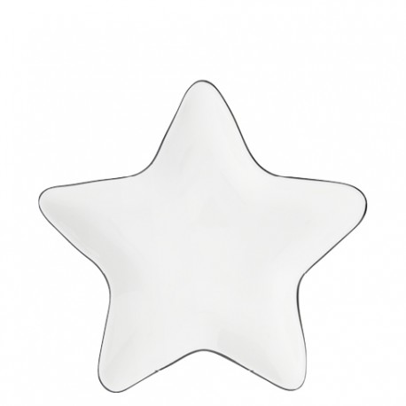 BC Star Plate 16cm with Black edge