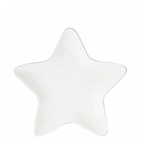 BC Star Plate 16cm with Grey edge