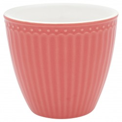 KUBEK LATTE CUP ALICE CORAL GREEN GATE