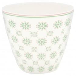 GG20 Latte cup Mila white