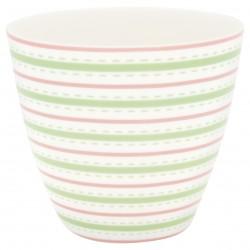 GG20 Latte cup Sari white