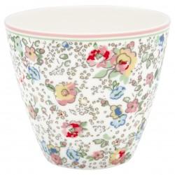 GG20 Latte cup Vivianne white