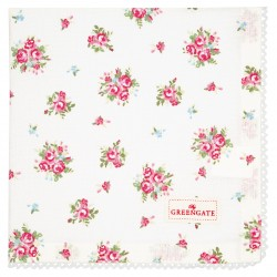 GG20 Napkin with lace Abigail white