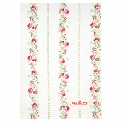 GG20 Tea towel Gabby white