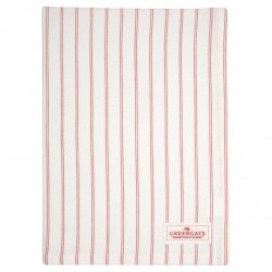 GG20 Tea towel Kajsa coral