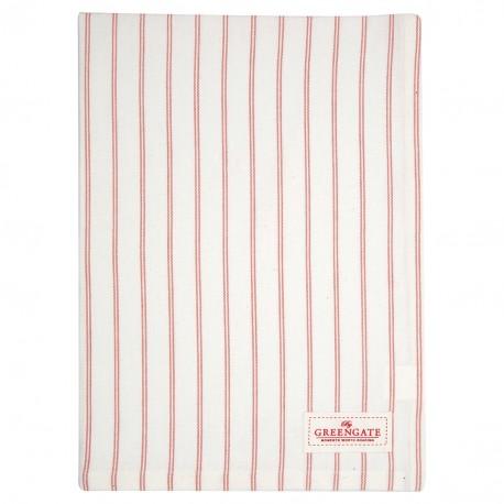 GG20 Tea towel Kajsa coral