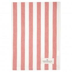 GG20 Tea towel Rigmor coral