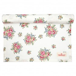 GG20 Table runner Franka white