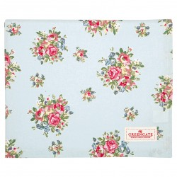 GG20 Tablecloth Franka pale blue 130x170cm