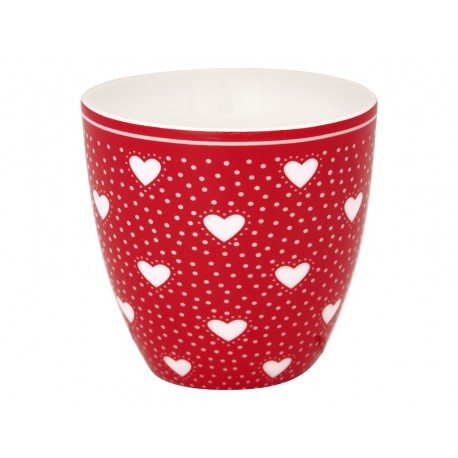 gg  KUBEK LATTE CUP MINI PENNY RED GREEN GATE