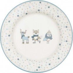 gg Kids plate Forrest pale blue