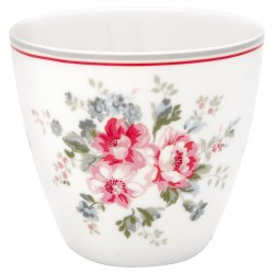 GG Latte cup Elouise white