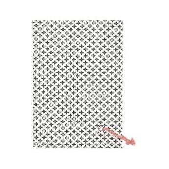 RĘCZNIK KUCHENNY Tea towel Sasha dark grey w/rope string GREEN GATE