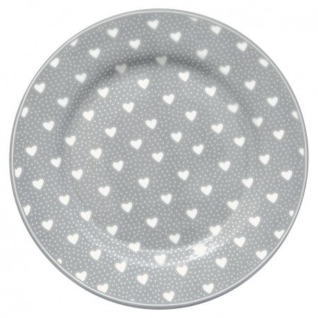 GG Plate Penny grey