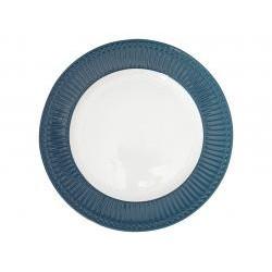 GG Dinner plate Alice ocean blue