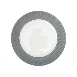 GG Dinner plate Alice stone grey