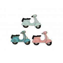 GG  Magnet Scooter pastel mix set of 3