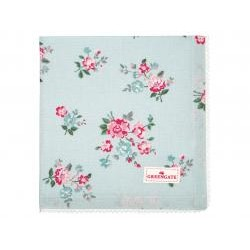 GG Napkin with lace Sonia pale blue