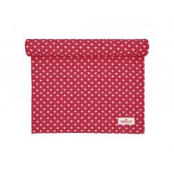 GG Table runner Penny red