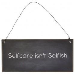 GG  Zum Ende der Bildgalerie springen Zum Anfang der Bildgalerie springenSHOP THE LOOK Metallschild Selfcare isn't selfish