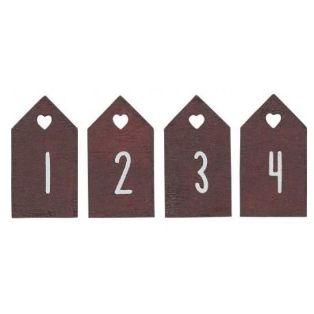 ZAWIESZKI ADWENTOWE 1,2,3,4  IB LAURSEN